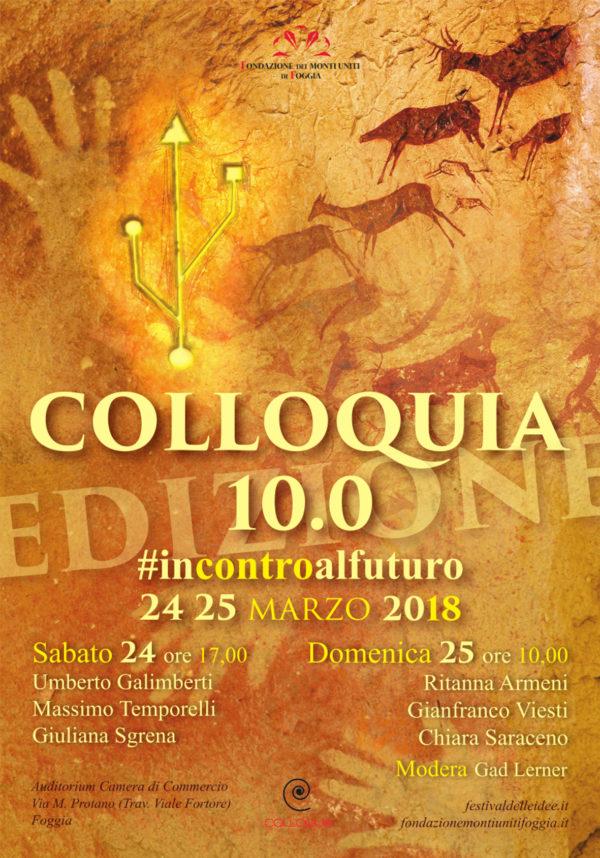 Incontroalfuturo Al Via Colloquia 100 Fondazione Dei Monti Uniti